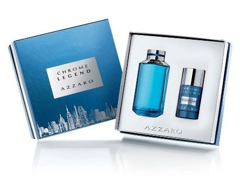 Chrome Legend Gift Set by Azzaro - Luxury Perfumes Inc. -