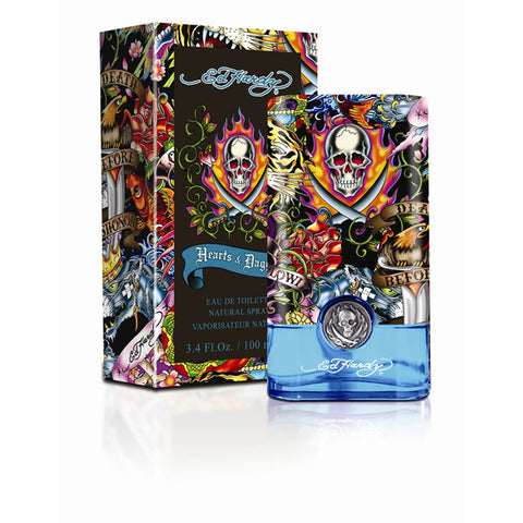 Ed Hardy Hearts & Daggers by Christian Audigier - Luxury Perfumes Inc. -