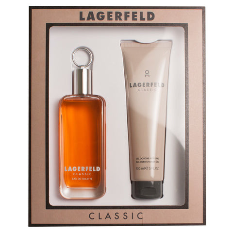 Lagerfeld Classic Gift Set by Karl Lagerfeld - Luxury Perfumes Inc. -
