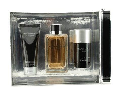 Silver Shadow Gift Set by Davidoff