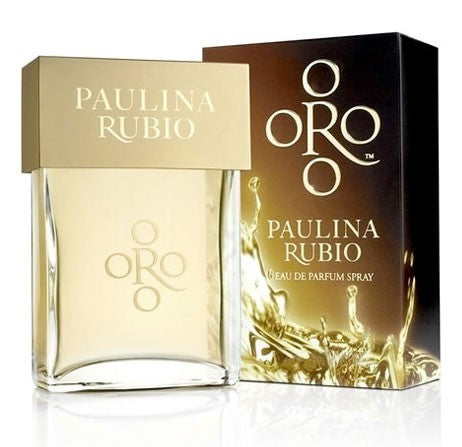 Oro by Paulina Rubio - Luxury Perfumes Inc. -