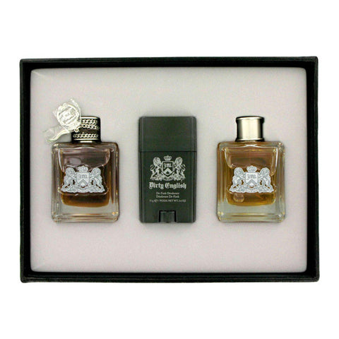 Dirty English Gift Set by Juicy Couture - Luxury Perfumes Inc. -