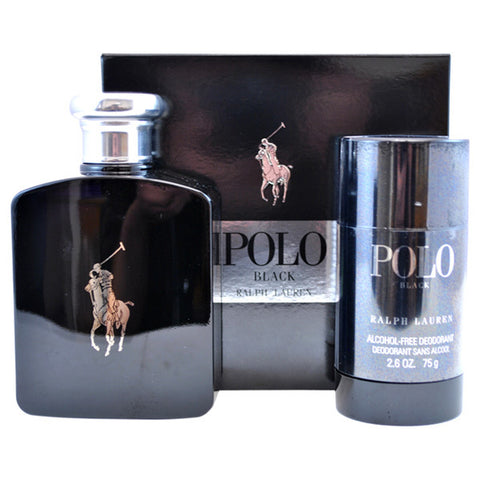 Polo Black Gift Set by Ralph Lauren - Luxury Perfumes Inc. -