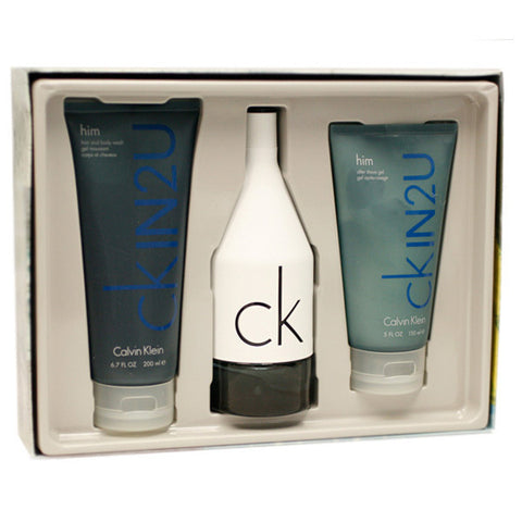 CK In 2 U Gift Set by Calvin Klein - Luxury Perfumes Inc. -