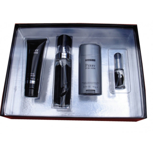 Perry Him Black Gift Set by Perry Ellis - Luxury Perfumes Inc. -