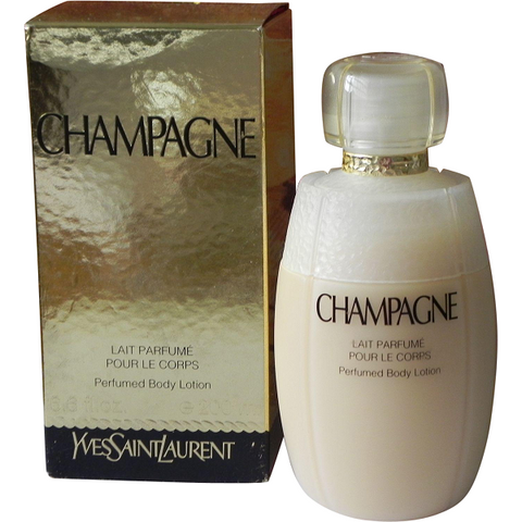 Champagne Body Lotion by Yves Saint Laurent