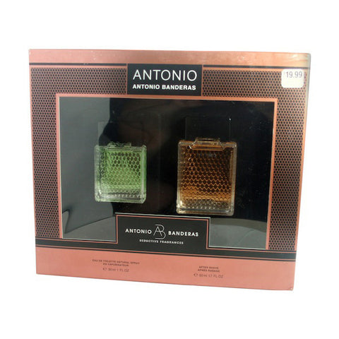Antonio Gift Set by Antonio Banderas - Luxury Perfumes Inc. -