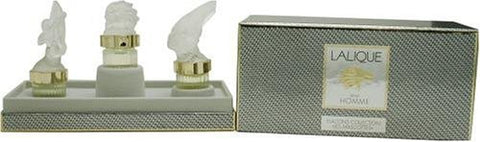 Lalique Men's Mascot Miniature Coffret Collectible Set by Lalique