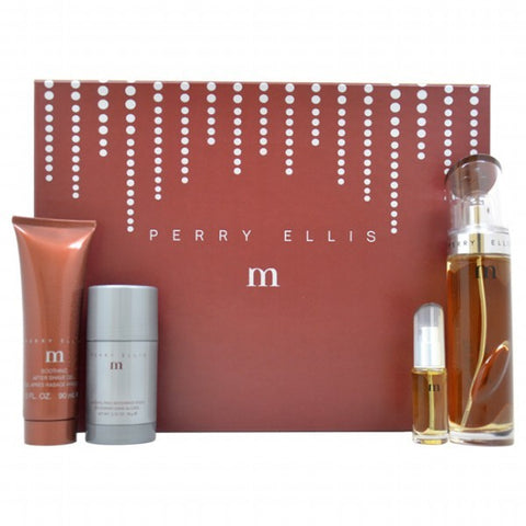 Perry Ellis M Gift Set by Perry Ellis