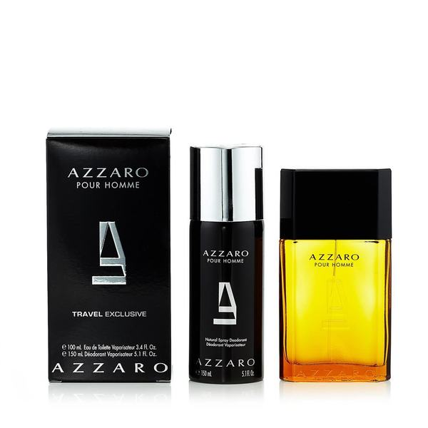 Azzaro Pour Homme Gift Set by Azzaro - Luxury Perfumes Inc. -