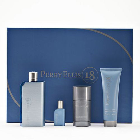 18 Gift Set by Perry Ellis - Luxury Perfumes Inc. -