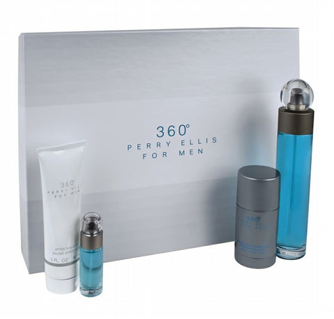 360 Gift Set by Perry Ellis - Luxury Perfumes Inc. -