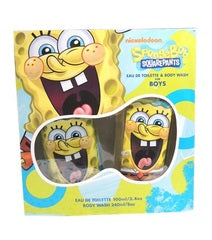 SpongeBob Squarepants Gift Set by Nickelodeon - Luxury Perfumes Inc. -