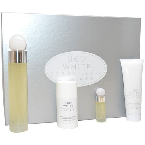360 White Gift Set by Perry Ellis - Luxury Perfumes Inc. -