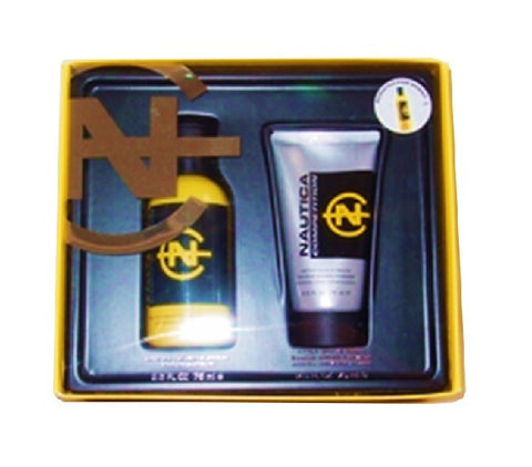 Competition Yellow Gift Set by Nautica - Luxury Perfumes Inc. -