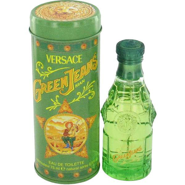 Green Jeans by Versace
