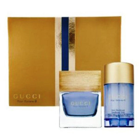 Gucci Pour Homme II Gift Set by Gucci - Luxury Perfumes Inc. -