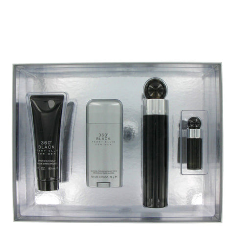 360 Black Gift Set by Perry Ellis - Luxury Perfumes Inc. -