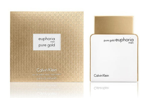 Pure Gold Euphoria Men by Calvin Klein
