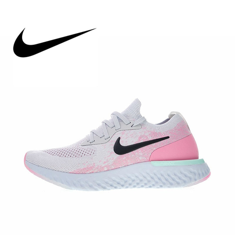 455c460323060 NIKE EPIC REACT FLYKNIT Womens Running Shoes Sneakers Breathable ...