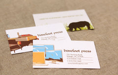 One-sided Business Cards