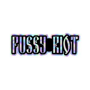 PUSSY RIOT HOLOGRAPHIC STICKER