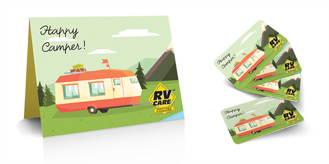 RV Care - Happy Camper Gift Card (digital)