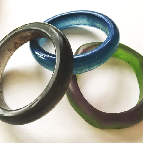 Bangle in Resin by Mainichi