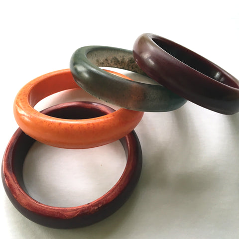 All New Resin Bangle handcast by Mainichi