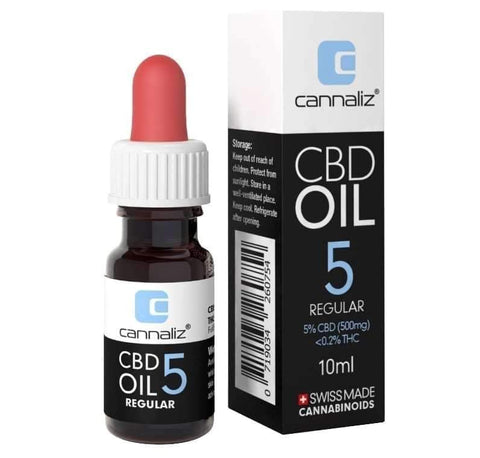 CBD Oil REGULAR mit 5% CBD