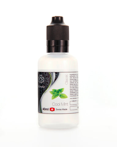 InSmoke Liquid 40ml Cool Mint 0mg Swiss Made - VapeTown.ch