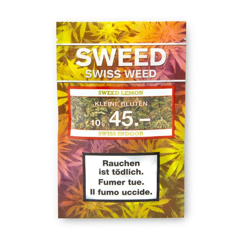 Sweed Lemon Indoor kleine Blüten 10g - VapeTown.ch