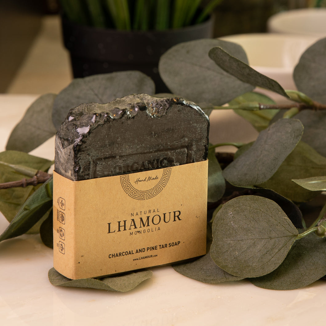 Charcoal and Pine Tar Soap 110gms