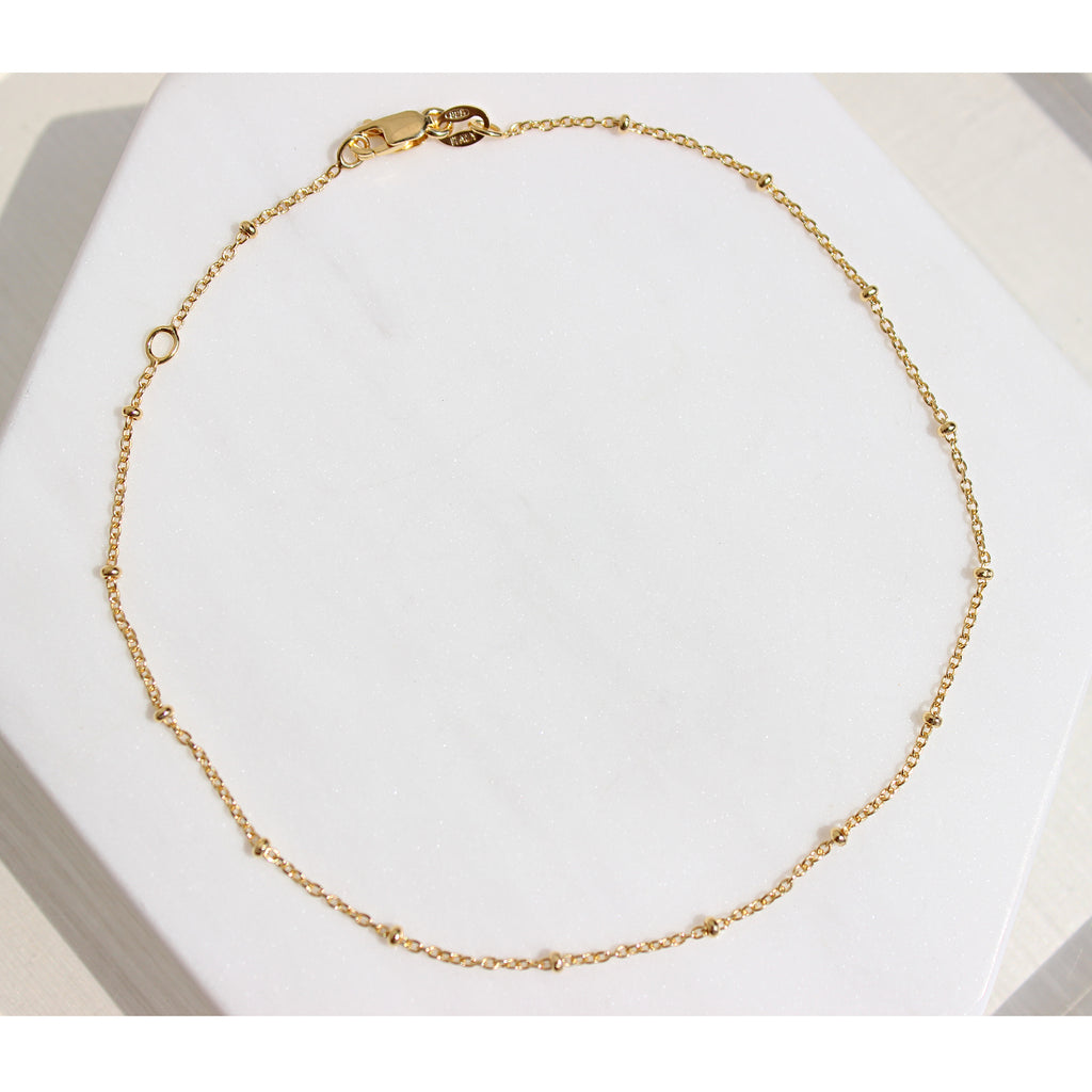 Bead Chain Necklace - Gemme Jewelry