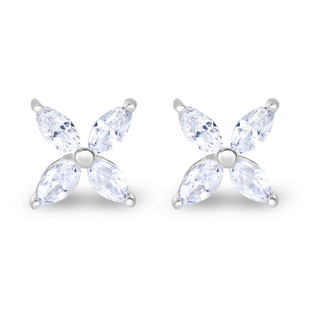 Marquise Zirconia Earrings - Spoil Cupid Jewelry