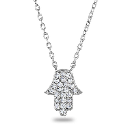 Toni Mini Hamsa Necklace - Spoil Cupid Jewelry