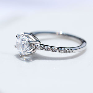 1 Carat Solitaire Engagement Ring