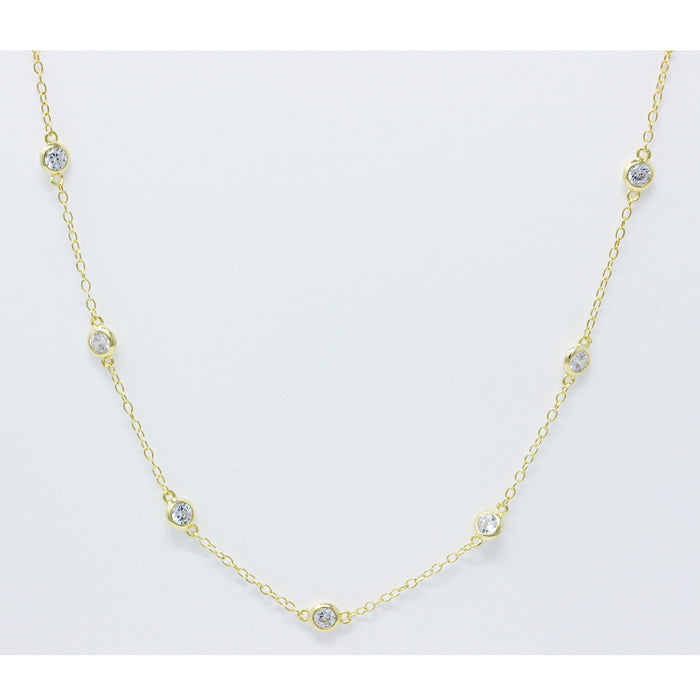 Loa CZ by Yard Necklace - Spoil Cupid Jewelry