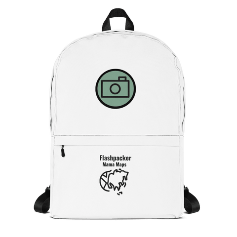 Flashpacker Mama Maps Official Tourist Backpack