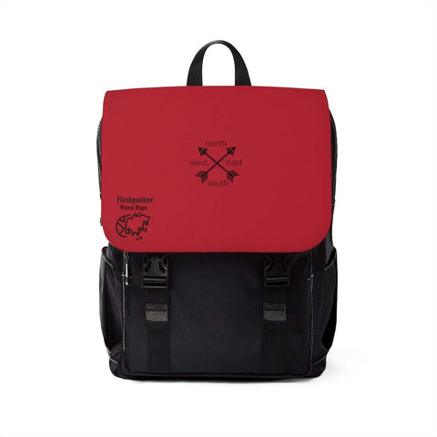 Red Travel Backpack