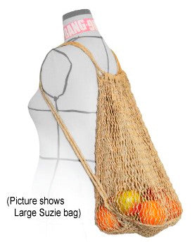 Big Suzie String Backpack with Jute Straps