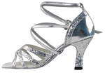 PCD5008 <BR> Mirage Silver Sparkle & Silver Leather