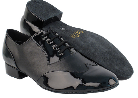 PCDM100101 <BR> Black Patent & Black Leather