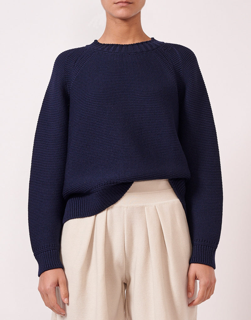 Sweater oversize point mousse Molli