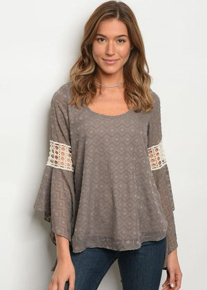 Kylie bell sleeve top