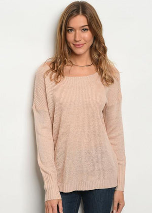 Taylor knit long sleeve