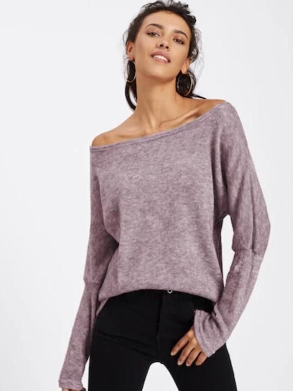Batwing sleeve top