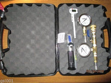 Geothermal Products Professional Geothermal technicians testing kit