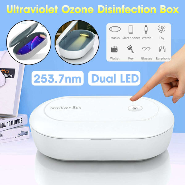 3 in 1 Multifunctional UV-C Sanitization Box-Clickmylife