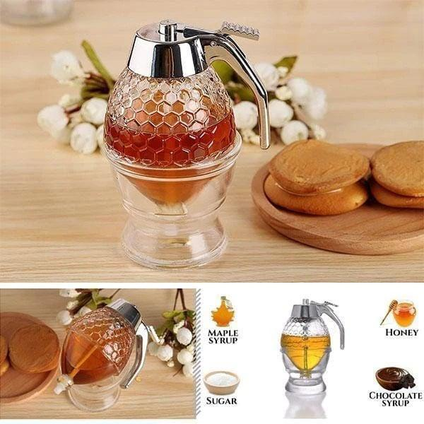 Jam Dispenser No Drip Honey Cup